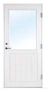enkel dörr